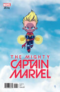 Mighty Captain Marvel Vol 1 1 Young Variant