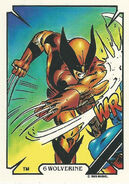 James Howlett (Earth-616) from Mike Zeck (Trading Cards) 0001