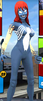 MJ Venom from Spider-Man Unlimited (video game) 001