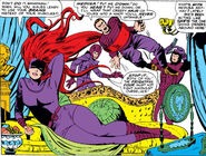 Medusalith Amaquelin (Earth-616) second costume from Fantastic Four Vol 1 41