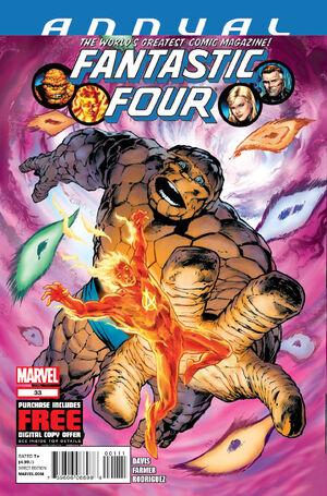 Fantastic Four Annual Vol 1 33