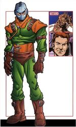 Lionel Jeffries (Earth-616) from Official Handbook of the Marvel Universe A-Z Update Vol 1 5