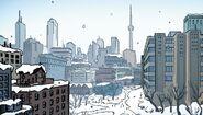 Toronto from Spider-Man Deadpool Vol 1 1.MU 001