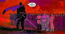 Augustine du Lac (Earth-616) and his army from Black Panther Vol 4 4 0001