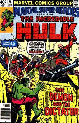 Marvel Super-Heroes Vol 1 85