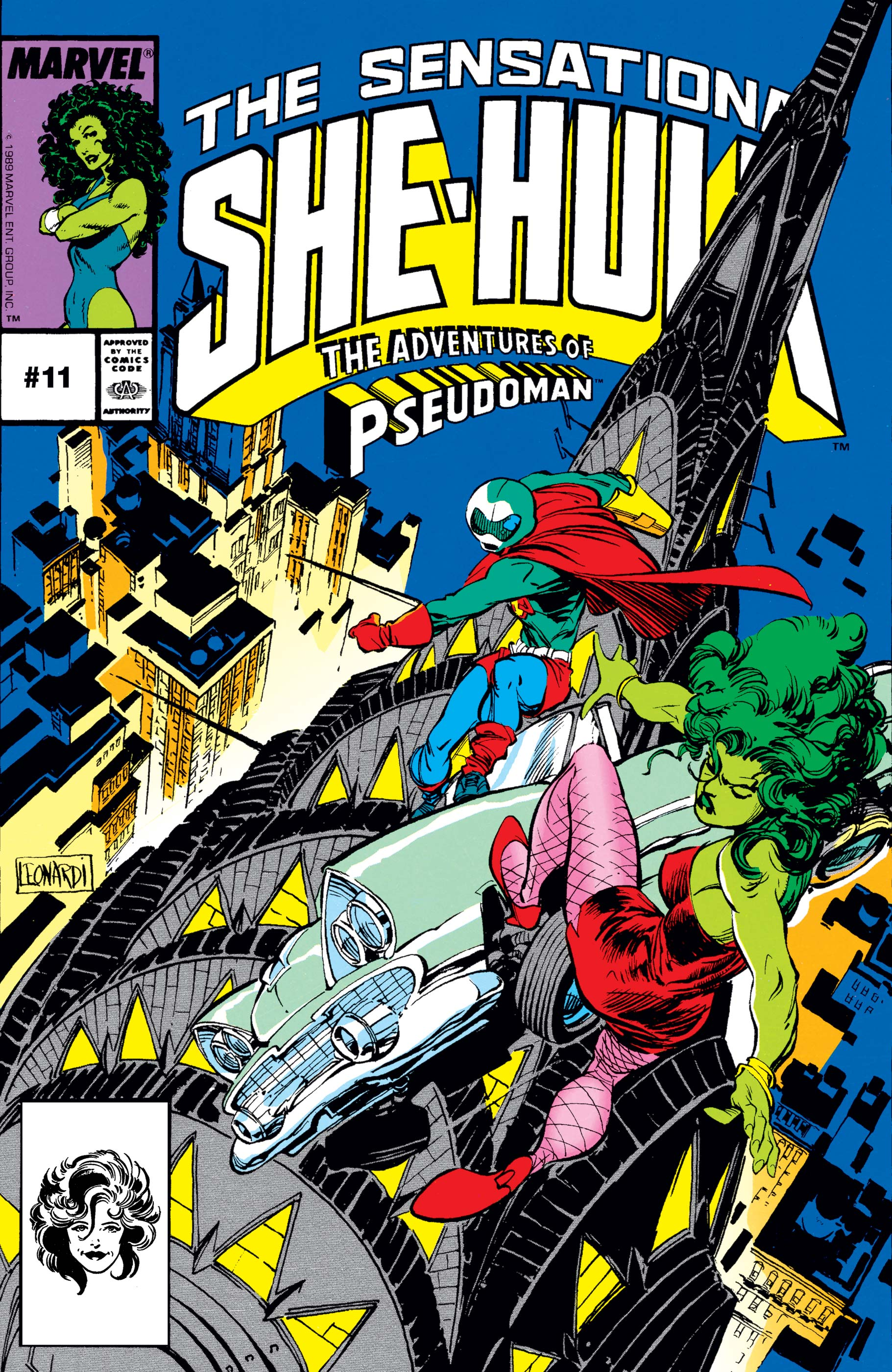 Sensational She-Hulk Vol 1 11