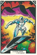 Norrin Radd (Earth-616) from Arthur Adams Trading Card Set 0001