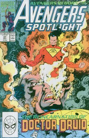 Avengers Spotlight Vol 1 37