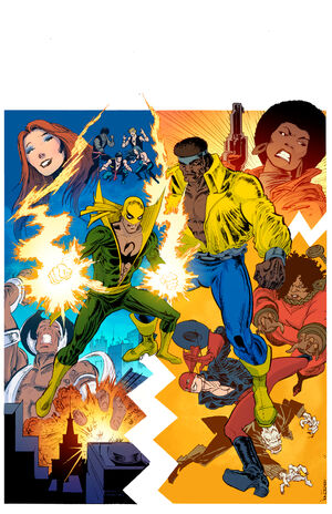 Power Man and Iron Fist Vol 3 1 Classic Variant Textless