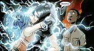 David Alleyne (Earth-616), Julian Keller (Earth-616) and Noriko Ashida (Earth-616) from New X-Men Vol 2 42 0001