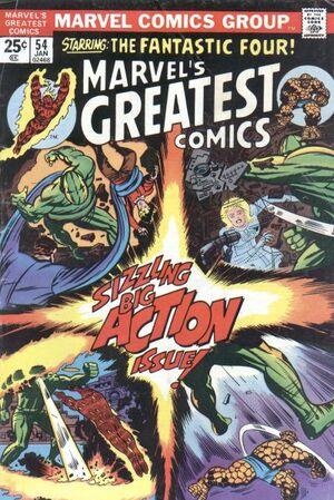 Marvel's Greatest Comics Vol 1 54