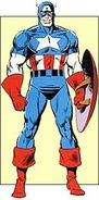 Steven Rogers (Earth-616) from Official Handbook of the Marvel Universe Vol 2 2 0001