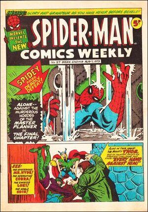 Spider-Man Comics Weekly Vol 1 27