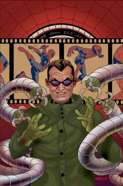 Spider-Man Doctor Octopus Negative Exposure Vol 1 5 Textless