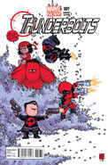 Thunderbolts Vol 2 1 Baby Variant