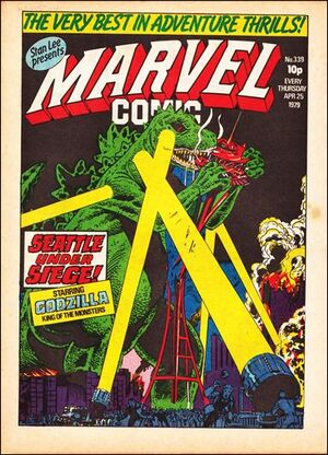Marvel Comic Vol 1 339