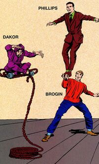Terrible Trio from Marvel Legacy Handbook 1960s Vol 1 1