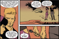 Katherine Bishop (Earth-616) and Clinton Barton (Earth-616) from All-New Hawkeye Vol 2 6 001
