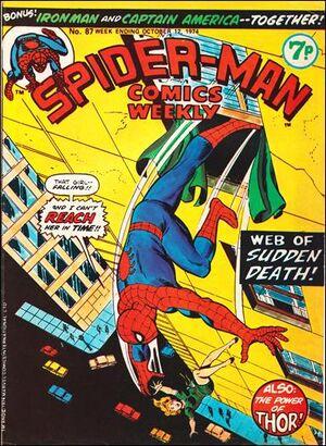 Spider-Man Comics Weekly Vol 1 87