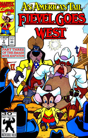 An American Tail Fievel Goes West Vol 2 3