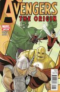 Avengers The Origin Vol 1 1