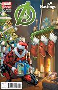 Avengers Vol 5 24.NOW Hastings Variant