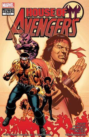 House of M Avengers Vol 1 2