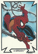 Peter Parker (Earth-616) from Todd Macfarlane (Trading Cards) 0002