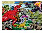 Dinosaurs (Earth-74811) from Devil Dinoaur Vol 1 1 0001