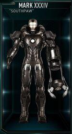 Iron Man Armor MK XXXIV (Earth-199999)