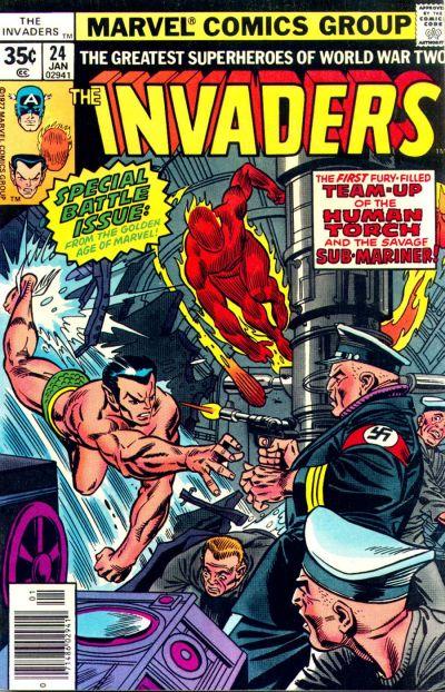Resultado de imagem para the invader #24 cover