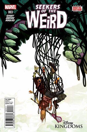 Disney Kingdoms Seekers of the Weird Vol 1 3