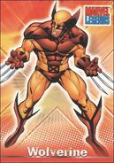 James Howlett (Earth-616) from Marvel Legends (Trading Cards) 0002