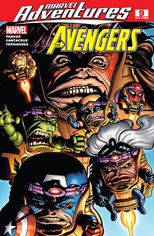 Marvel Adventures The Avengers Vol 1 9