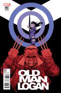 Old Man Logan Vol 2 3 Shalvey Variant