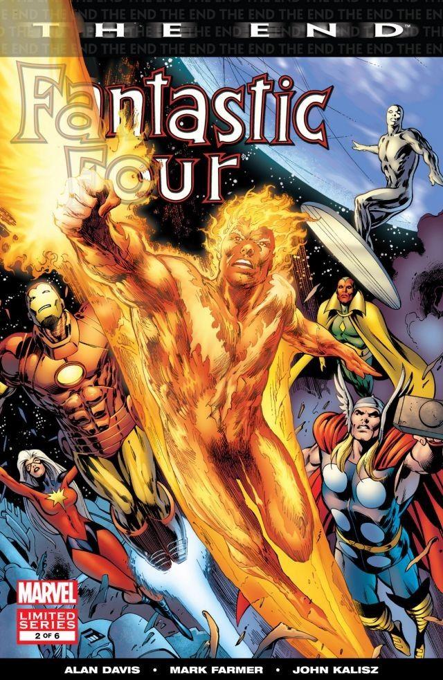 Fantastic Four The End Vol 1 2