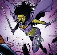 Gamora Zen Whoberi Ben Titan (Earth-7528) from Guardians of the Galaxy Vol 4 13 001