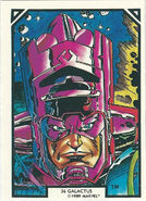 Galactus (Earth-616) from Arthur Adams Trading Card Set 0001