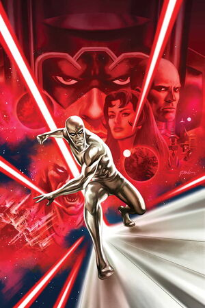Silver Surfer Vol 8 3 Epting Variant Textless