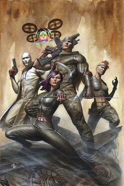 X-Force Vol 4 2 Granov Variant Textless