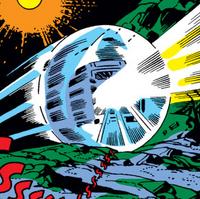 Gyro-Cruiser from Fantastic Four Vol 1 54 001