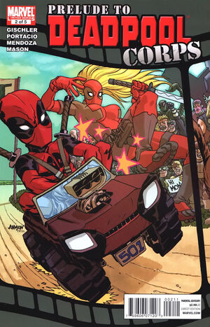Prelude to Deadpool Corps Vol 1 2