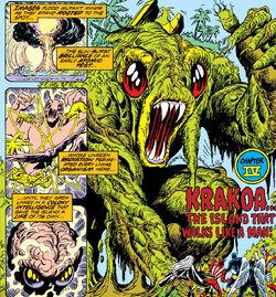 Krakoa (Earth-616) from Giant-Size X-Men Vol 1 1 0001