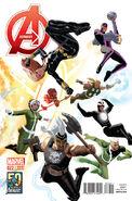 Avengers Vol 5 22 50 Years of Avengers Variant