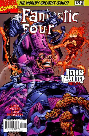 Fantastic Four Vol 2 12