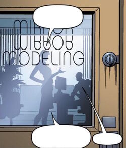 Mirror Modeling (Earth-616) from G.L.A. Vol 1 2