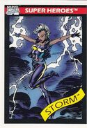 Ororo Munroe (Earth-616) from Marvel Universe Cards Series I 0002