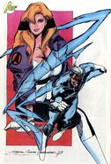 Crystalia Amaquelin (Earth-616) and Quicksilver from Avengers Vol 1 367