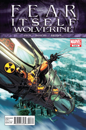 Fear Itself Wolverine Vol 1 3