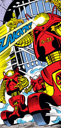 Guardian robots (Earth-616) from Fantastic Four Vol 1 198